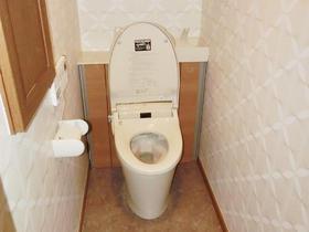リフォレ I型で、トイレ空間に合わせた手洗器の設置