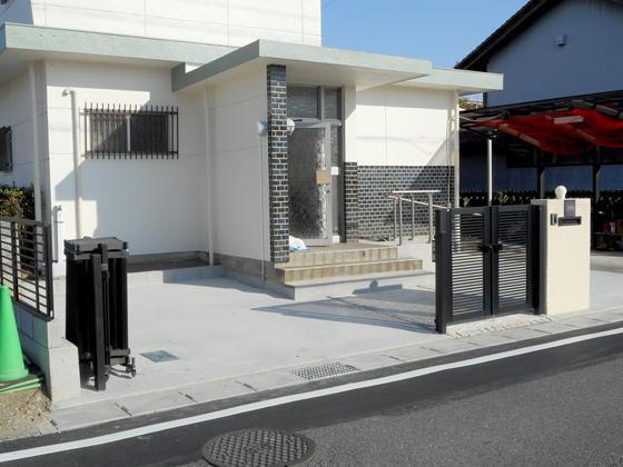 ご近所さんもびっくり!庭が3台駐車可能な駐車場に