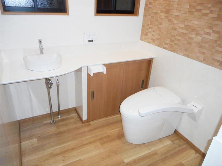 トイレの臭いがしない!清掃性・実用性が高いハイクオリティなトイレ