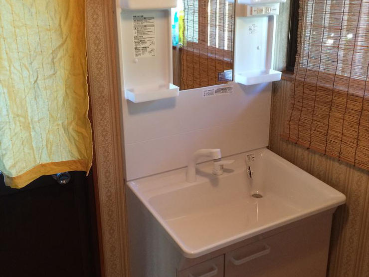 ライフスタイルに合わせた75cmの洗面化粧台