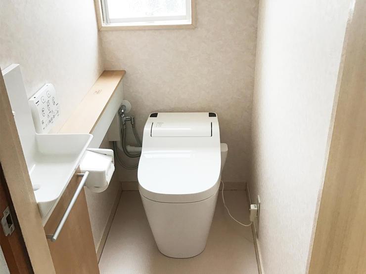 雰囲気一新!高級感あふれるトイレ